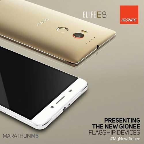 شركة Gionee تعلن عن جهاز Marathon M5 ذو بطاريتين ويعمل لمدة 4 أيام متواصلة