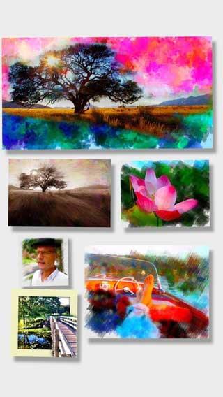 تطبيق PhotoViva لتحويل صورك للوحات فنية