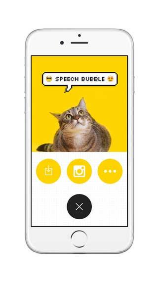 تطبيق Bubble لإضافة الفقاعات المكتوبة على الصور