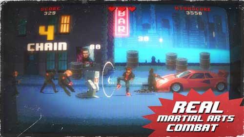 لعبة Kung Fury لمحبي قتال الشوارع الكلاسيكية