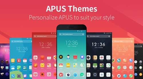 تطبيق APUS Launcher لانشر احترافي بميزات رائعة للاندرويد