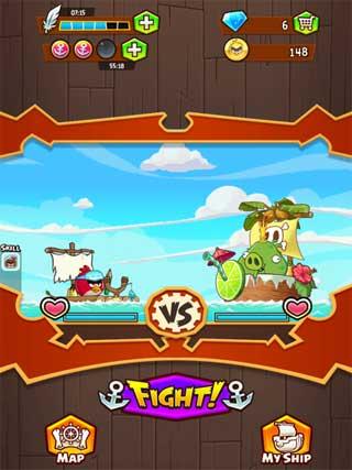 لعبة Angry Birds Fight! الطيور الغاضبة بحلة جديدة للاندرويد