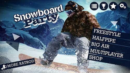 لعبة Snowboard Party Lite للتزلج على الجليد