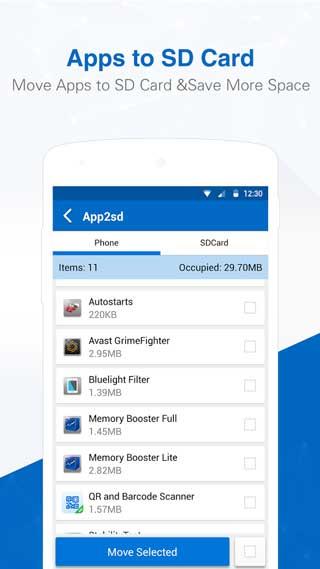 تطبيق All-In-One Toolbox منظف ومدير ملفات والرام