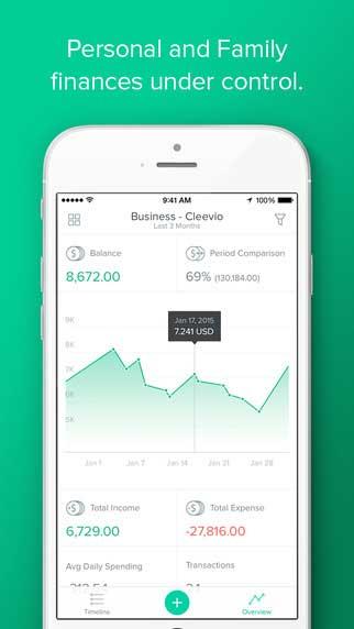 تطبيق Spendee لمعرفة أين تصرف أموالك