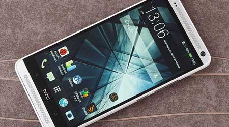 صورة جهاز HTC One Max يبدأ بالحصول على الأندرويد 5.0