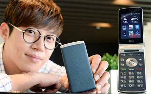 LG تعلن عن هاتف كلاسيكي قابل للطي بنظام الأندرويد 5.1