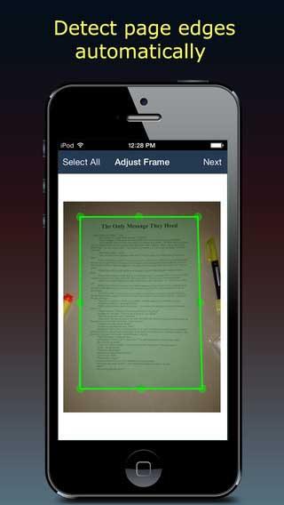 تطبيق Fast Scanner لتحويل جهازك لماسح ضوئي للوثائق والمستندات