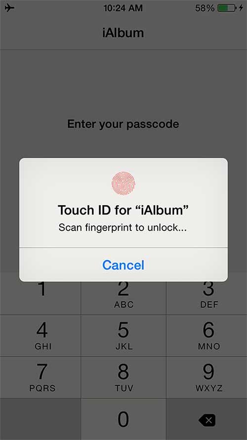 تطبيق iAlbum لحماية صورك وفيديوهاتك بالبصمة الأرقام السرية - مجانا
