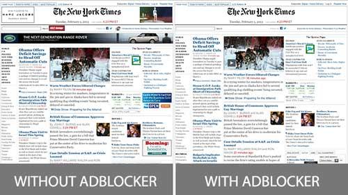 أداة AdBlocker 2 لمنع الإعلانات من الظهور