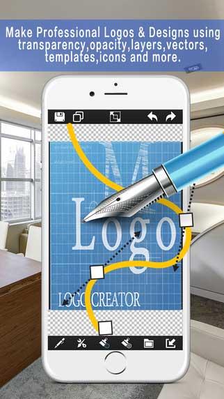 تطبيق Logo & Design Creator لتصميم الشعارات