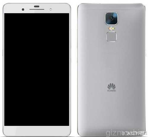 صورة ومواصفات مسربة لجهاز Huawei Mate 8