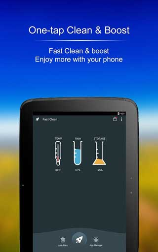 تطبيق Fast Clean لتنظيف وتسريع جهازك الأندرويد