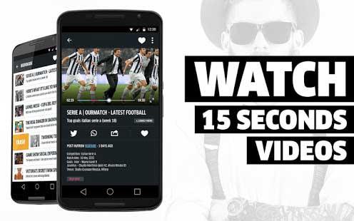 تطبيق Minute Video Discovery لاستكشاف جديد الفيديو يوميا