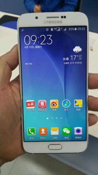 صور مسربة لجهاز Galaxy A8