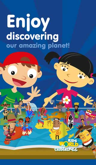 تطبيق Kids World Cultures - لتعليم الأطفال ثقافات الحضارات الأخرى
