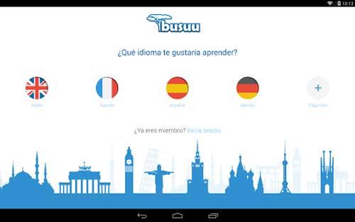 تطبيق busuu لتغليم اللغات العالمية - للأندرويد