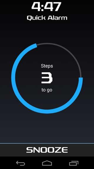 تطبيق Walk Me Up منبه ذكي بميزة سترغمك على الاستيقاظ
