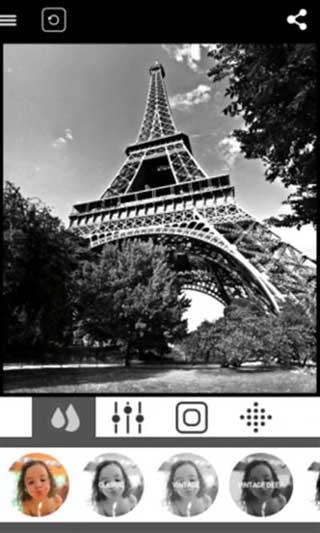تطبيق BlackCam لالتقاط صور وتحويليها للون الأبيض والأسود