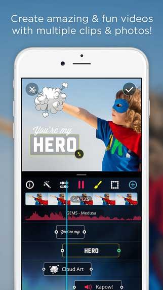 تطبيق VidLab لإنتاج فيديو من خلال ألبوم صورك مع الكثير من الخيارات