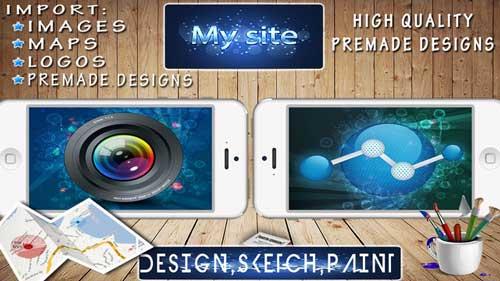 تطبيق Design & Flyer Creator لتصميم الأيقونات والماركات بصورة احترافية - مميز ورائع