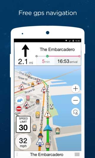 تطبيق Navmii GPS World للملاحة بأفضل المزايا للاندرويد