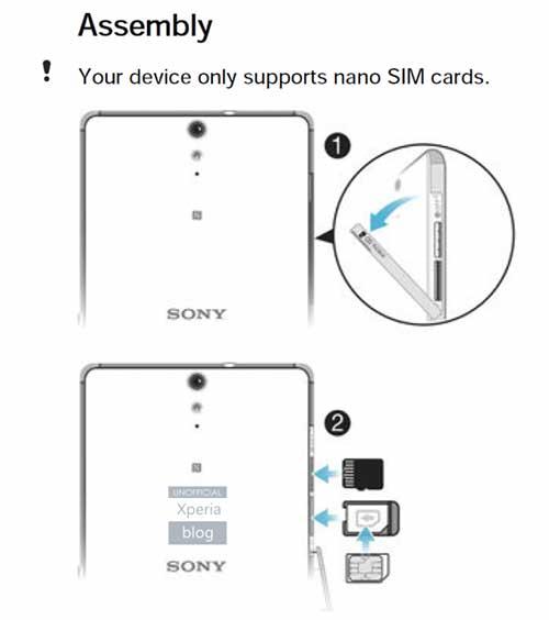 جهاز Xperia C5 Ultra هاتف من سوني بشاشة بدون حواف