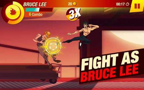 لعبة Bruce Lee المميزة للاندرويد - لعبة كراتيه وقتال