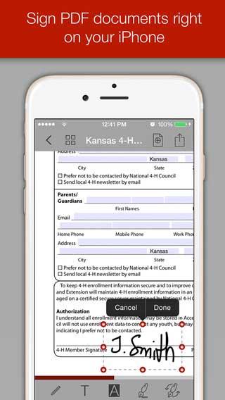 تطبيق PDF Forms لإدارة ملفات PDF باحترافية