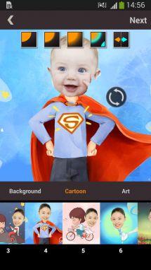 تطبيق FotoCut لقص أجزاء من الصور وتحريرها للاندرويد