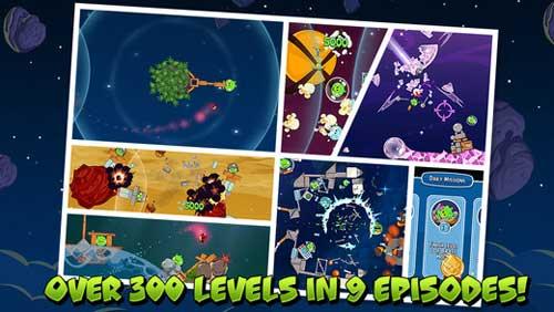 لعبة Angry Birds Space بنسخة جديدة