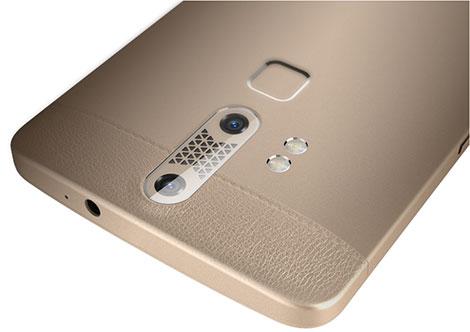ZTE تكشف عن هاتف Axon Lux بميزة اكتشاف بصمة العين !