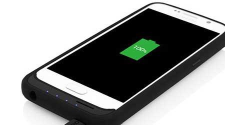غطاء لهاتف Galaxy S6 يتيح إمكانية إضافة كارت ذاكرة و يضاعف عمر البطارية !