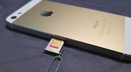 صورة قريباً : الآيفون بدون شريحة اتصال SIM !