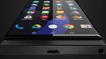صورة مسربة - جهاز بلاكبيري منحني الشاشة بنظام الأندرويد