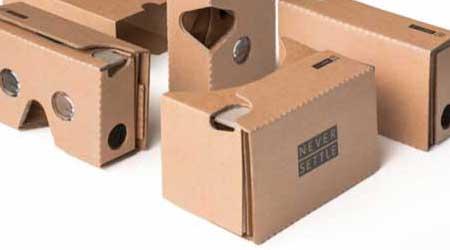 صورة نظارات OnePlus Cardboard متوفرة للبيع رسميا