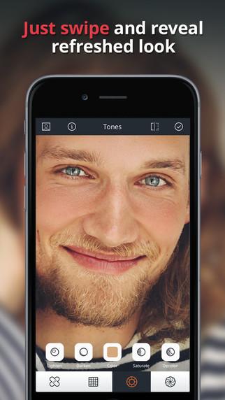 تطبيق Relook دقة متناهية في تعديل الصور وتصحيح مشاكل البشرة