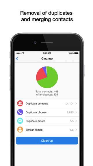 تطبيق Contacts Pro لإدارة والتحكم في جهات الاتصال