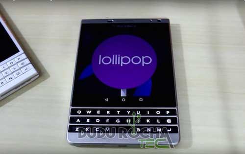 صور وفيديو: جهاز BlackBerry Passport بنظام الاندرويد المصاصة