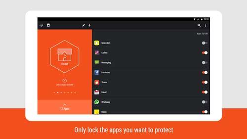 تطبيق Hexlock لحماية الخصوصية وقفل التطبيقات بأرقام سرية - رائع ومجاني