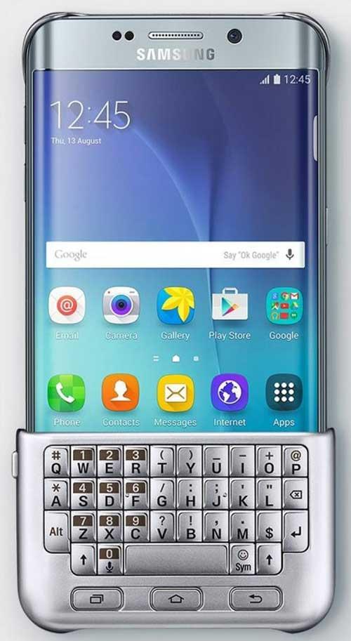 جهاز +Galaxy S6 Edge سيحصل على لوحة مفاتيح فيزيائية
