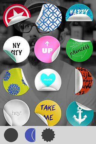 تطبيق Stickers لإضافة ملصقات رائعة على الصور