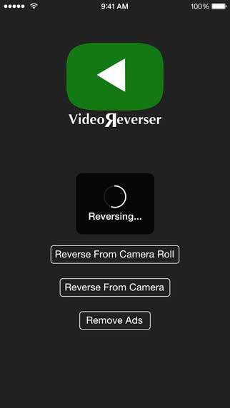 تطبيق Video Reverser لعكس تشغيل الفيديو من النهاية إلى البداية - رائع ومجاني !