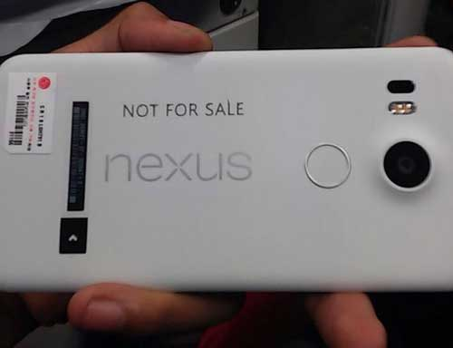 صورة حقيقة مسربة لجهاز Nexus 5 2015 - إنه مذهل ورائع