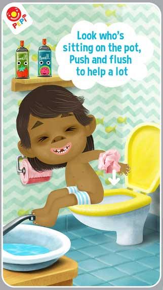 تطبيق Pepi Bath 2 التعليمي المميز - لتعليم الأطفال النظافة