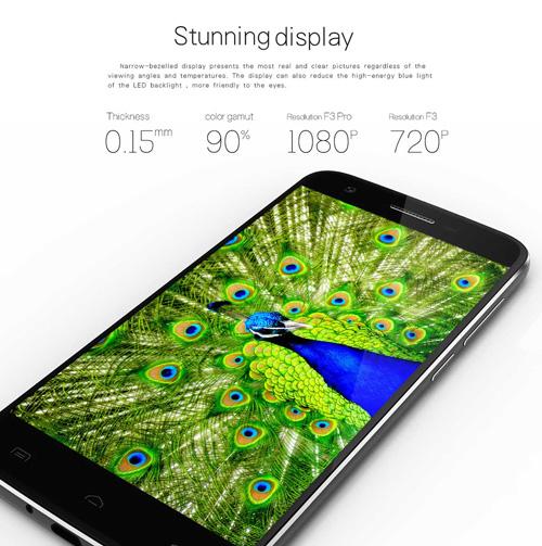 جهاز DOOGEE F3 Pro المميز متوفر للشراء الآن من موقع gearbest