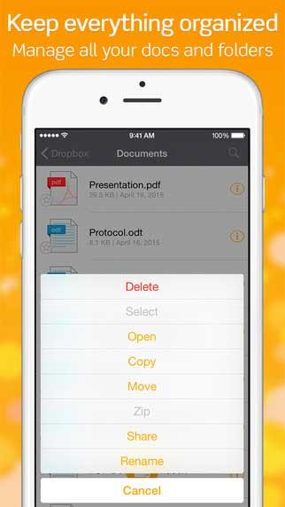 تطبيق TOP File Manager لإدارة الملفات وقراءة المستندات - جميل ومميز