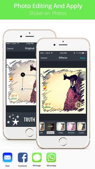 تطبيق Stickers ملصقات وفيسات للواتس آب