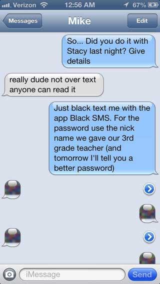 تطبيق Black SMS لحماية رسائلك القصيرة بطريقة ذكية - مجانا لوقت محدود