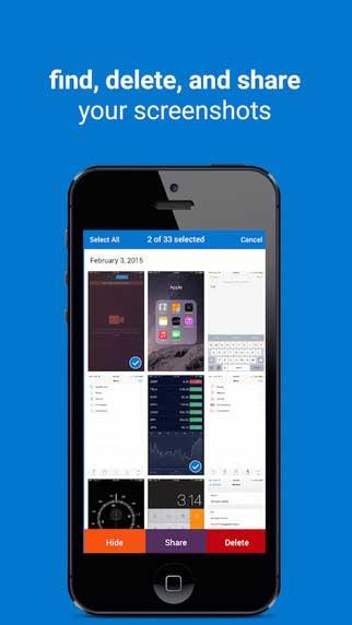 تطبيق Screenshots لإدارة صور الشاشة بسهولة - مجانا لوقت محدود